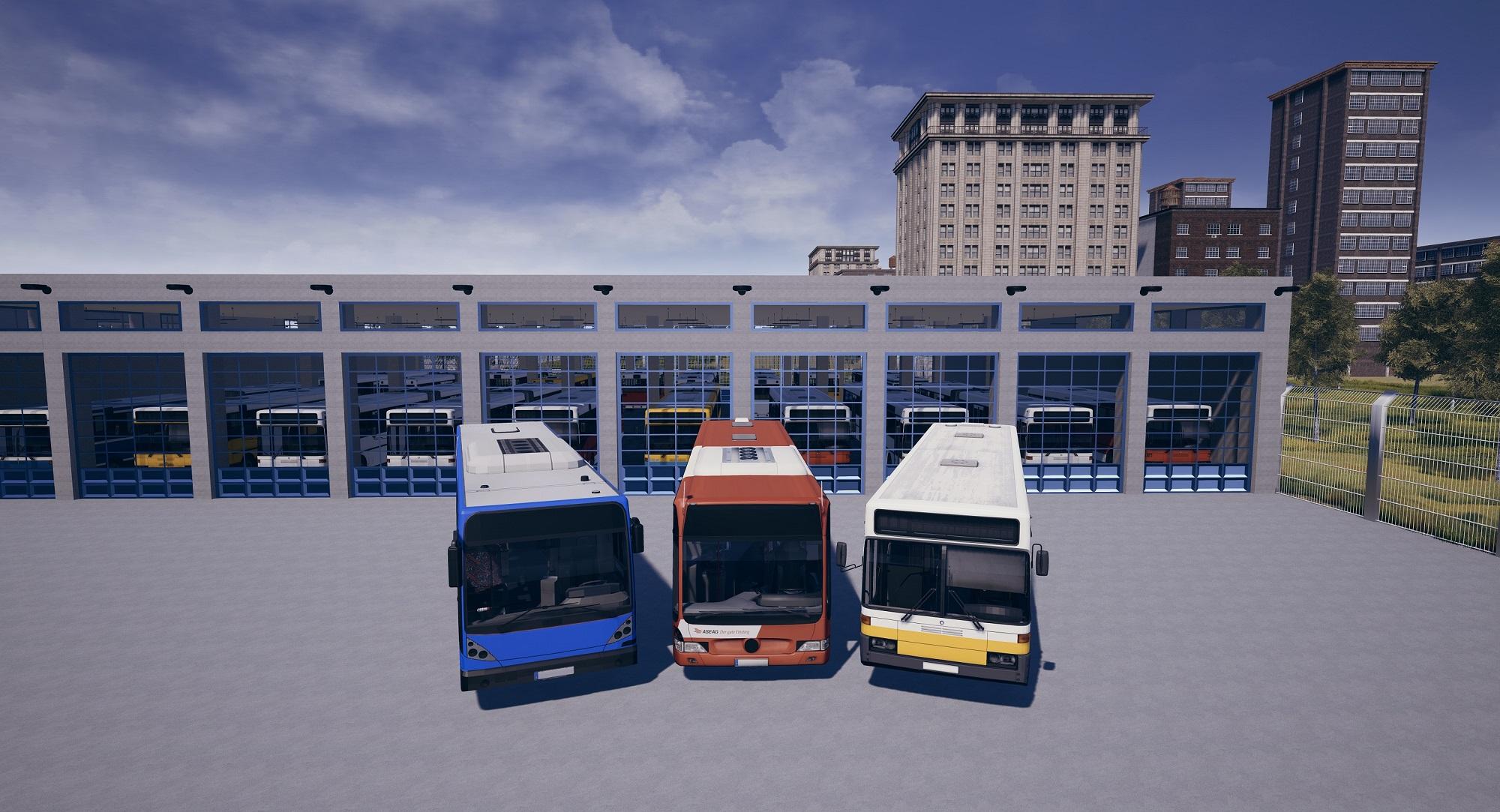 Busbetrieb-Simulator